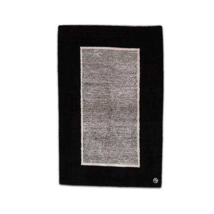 Teppich schwarz weiss
