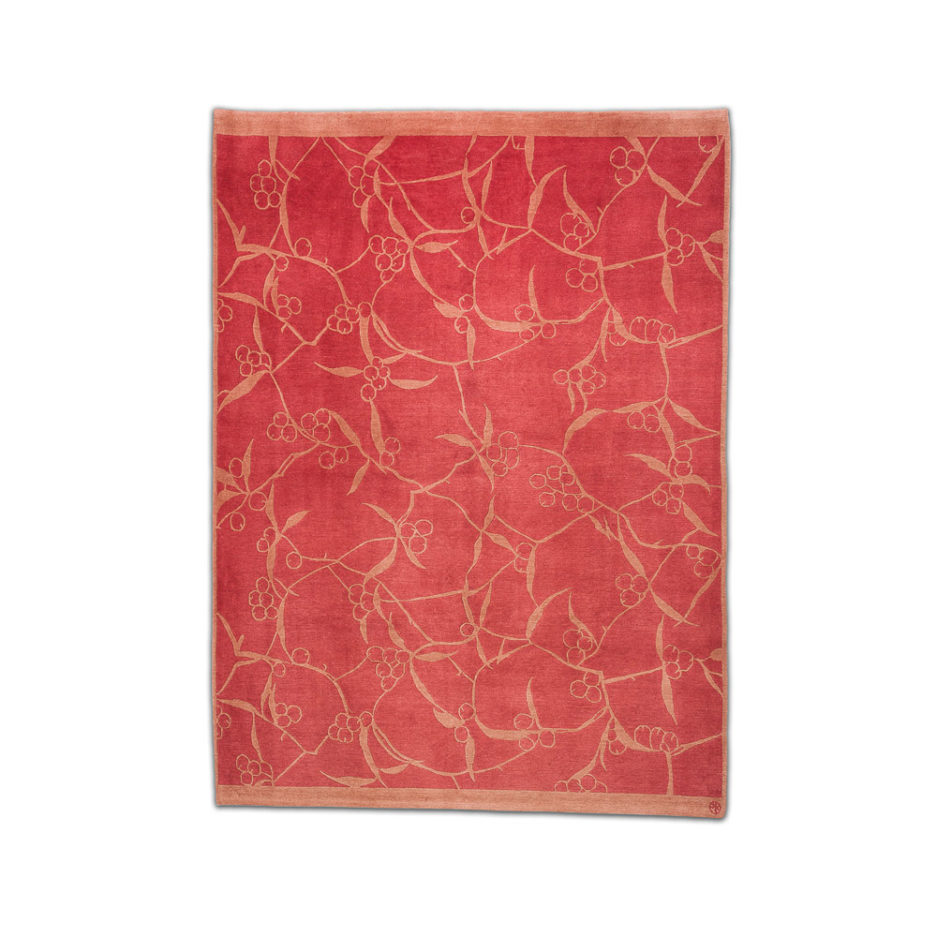 Teppich Wolle rot